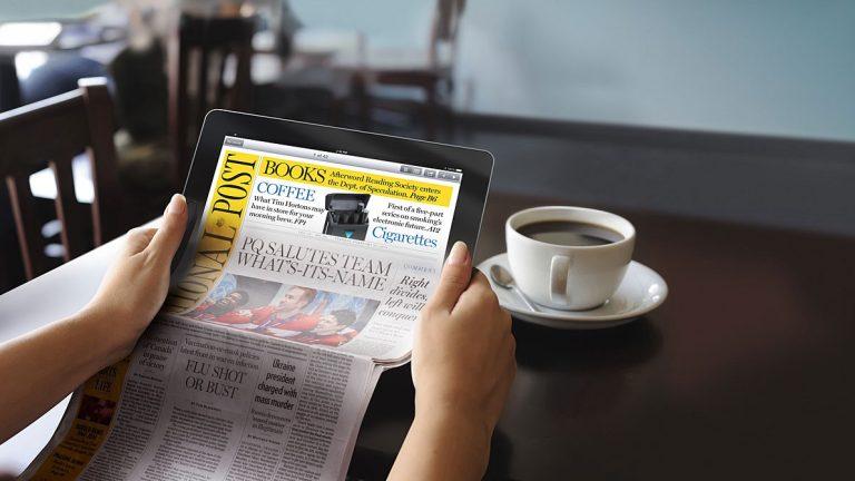 Digital Newspaper Readers